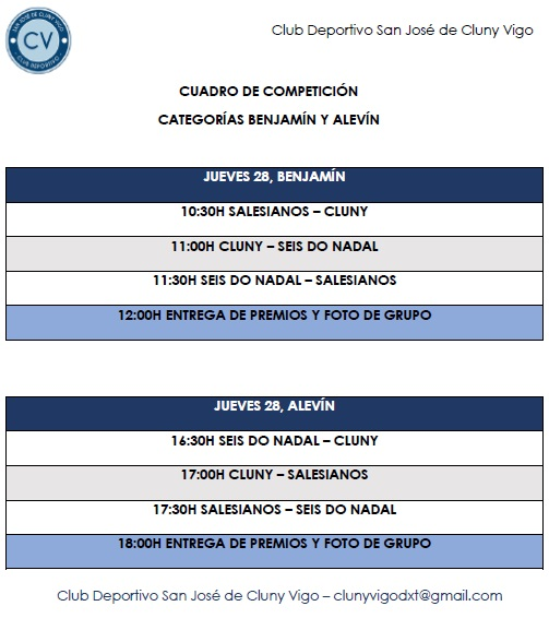Torneo Cluny Horas