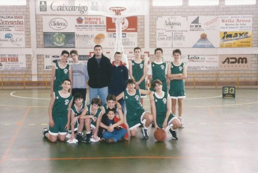 1997-98 Salesianos Infantil Masculino