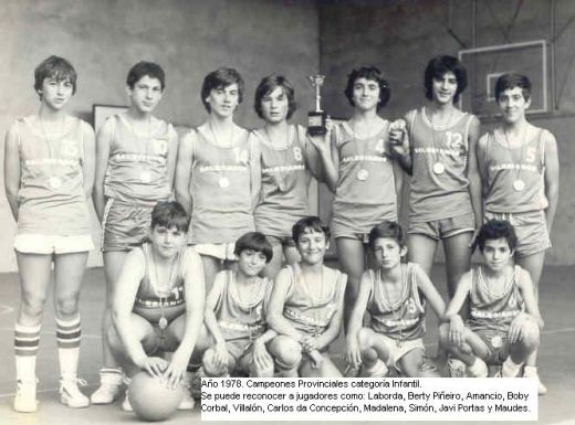 Salesianos Infantil Masculino 1977-78